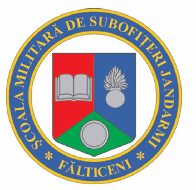 """Şcoala Militară de Subofiţeri de Jandarmi Fălticeni """"Petru Rareș"""""""