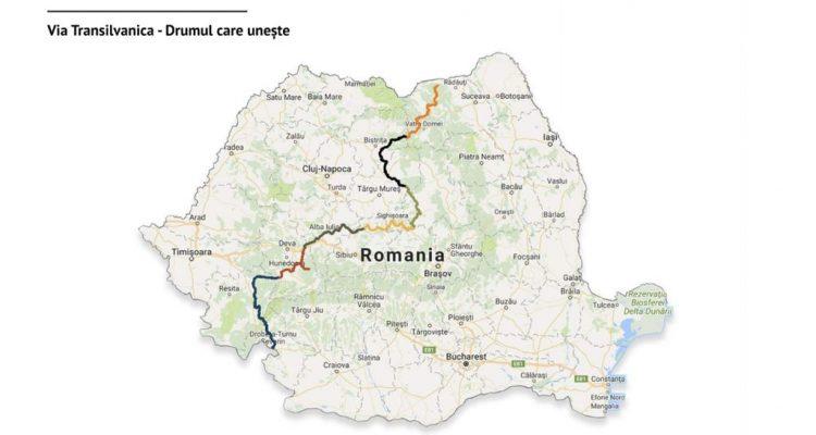 Via Transilvanica - o nouă etapă din cei 1000 km de drum ...  |Via Transilvanica
